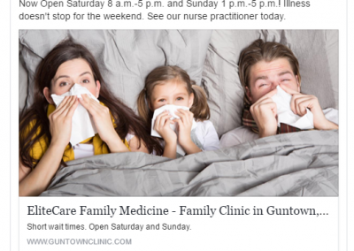 Medical Clinic Facebook Ads