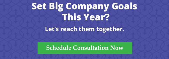 set big company goals? Let's reach them together. Free consultation.