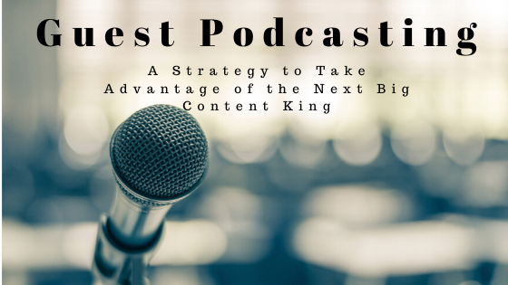microphone, Guest Podcasting: A Strategy to Take Advantage of the Next Big Content King
