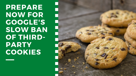 Google's ban of third party cookies