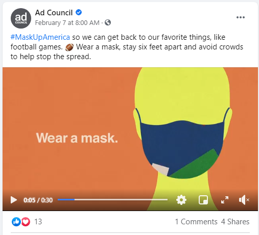 Ad Council MASK